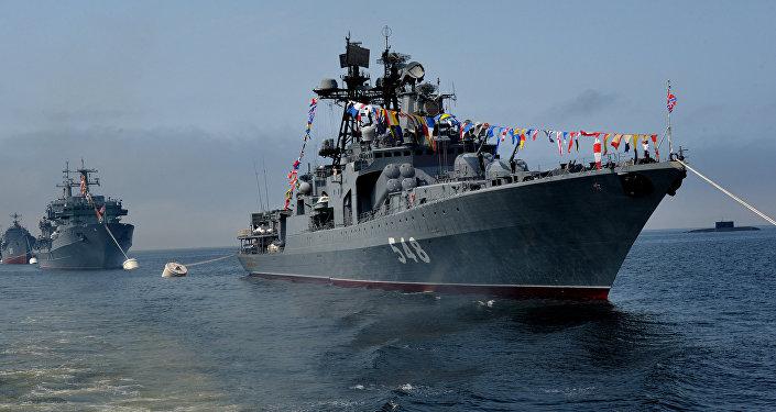 Большой противолодчный корабль (БПК) Адмирал Пантелеев