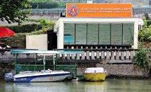 Новое здание спасательной службы на реке Кура в Тбилиси