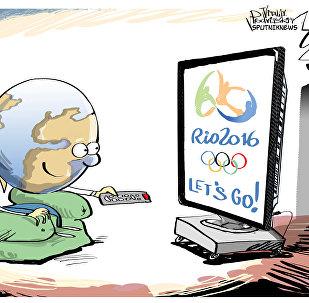 Мир ждет начала Олимпиады