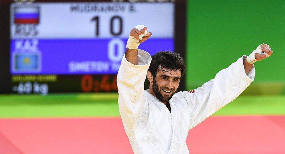 Олимпиада-2016 вРио: Дзюдоист Мудранов завоевал первое золото для сборной РФ