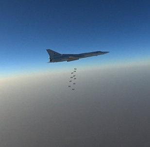 Российские дальние бомбардировщики Ту-22М3 ударили по объектам ИГ в Сирии