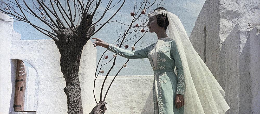 Додо Чоговадзе в кадре из художественного фильма Волшебная лампа Аладдина