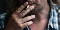 Курение в общественных местах.