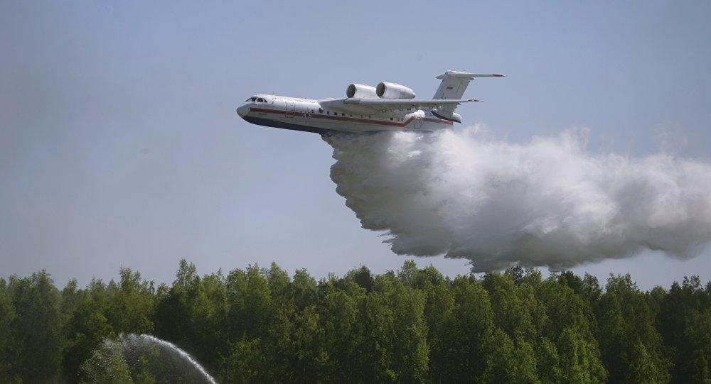 МЧС РФ направляет уникальные самолеты-амфибии Бе-200ЧС спасать Португалию