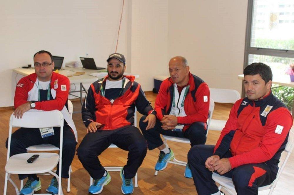 Члены олимпийской делегации Грузии