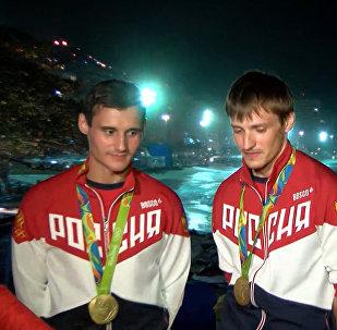 Трудный поединок - российские рапиристы о победе над Францией на ОИ-2016