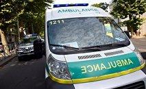 Служба 112 - машина скорой медицинской помощи