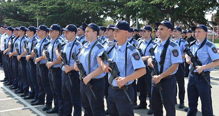 Сотрудники специальной службы госохраны Грузии