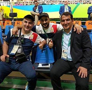 Слева Каха Кахиашвили, посередине Георгий Асанидзе