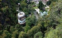 Боржоми - вид со смотровой площадки верхней станции канатной дороги