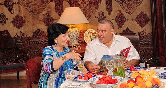 Нани Брегвадзе и Бесик Пипия