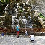 Водопад в центре Боржоми