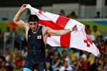 Борец греко-римского стиля Шмаги Болквадзе (-66 кг), завоевавший бронзовую медаль на Олимпиаде в Рио-де-Жанейро