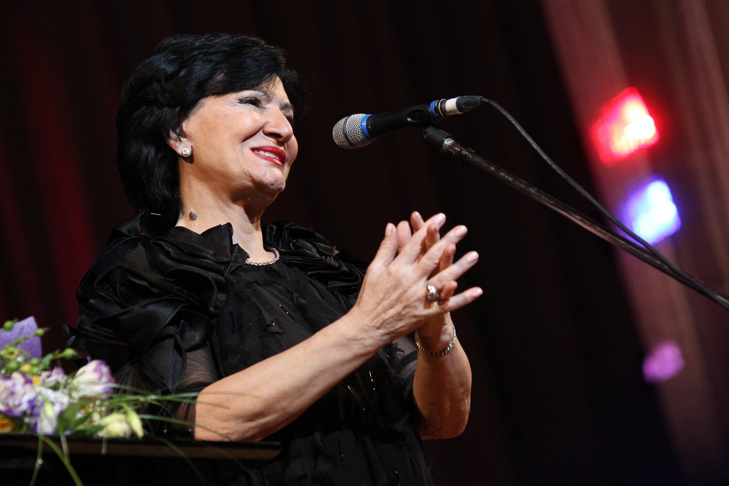 Концерт грузинской певицы Нани Брегвадзе