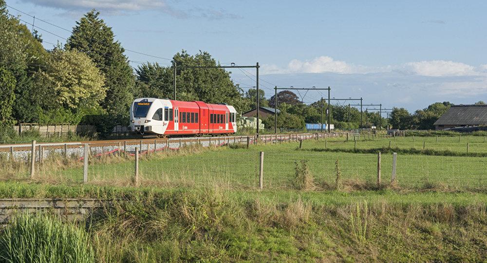 ВоФранции пассажирский поезд столкнулся супавшим напути деревом