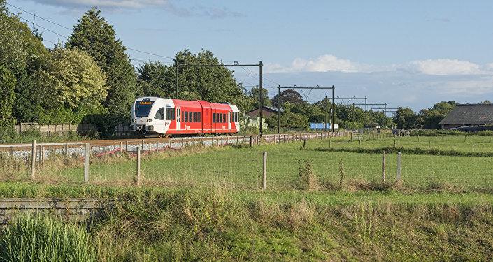 Региональный поезд во Франции