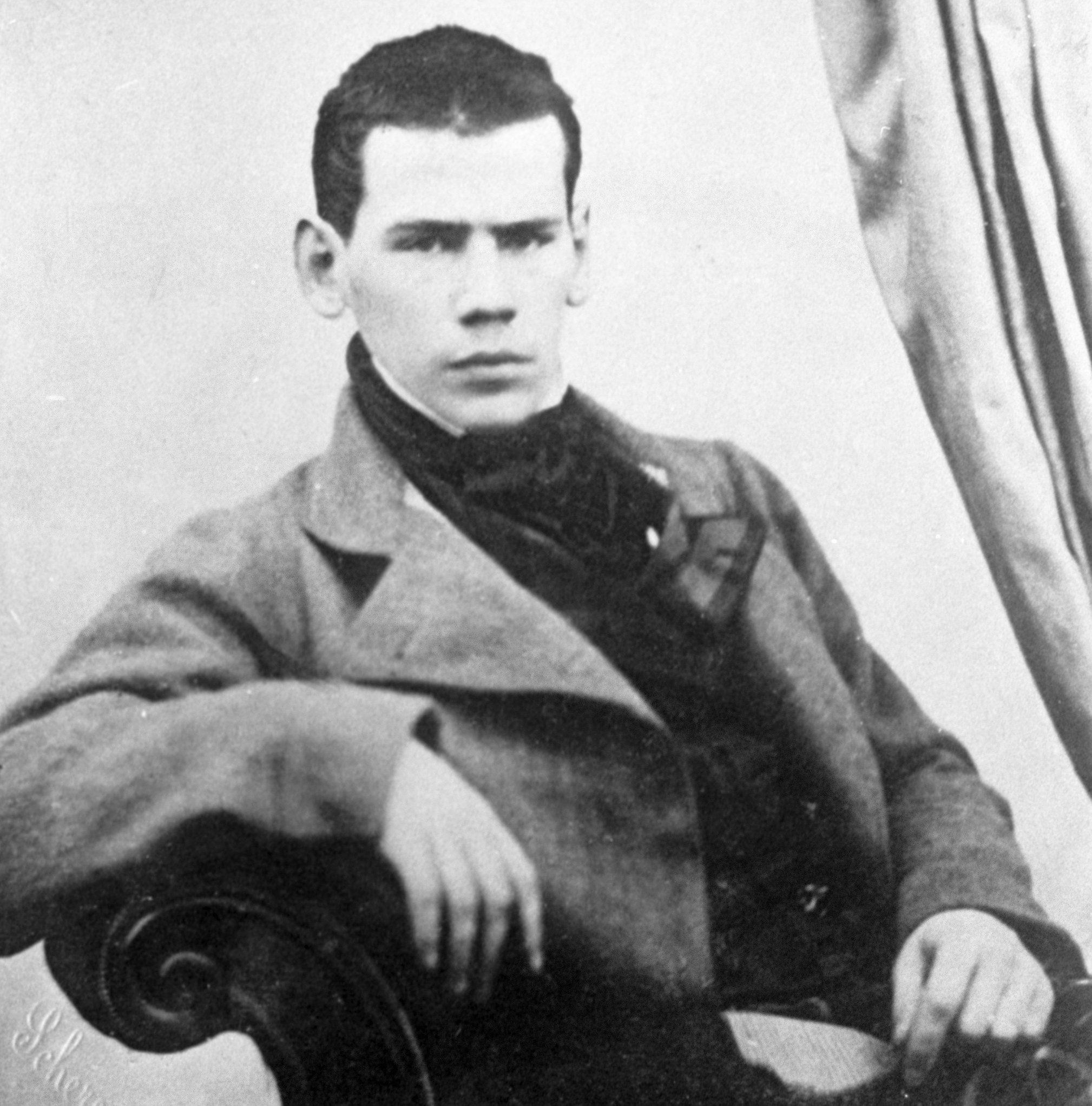 ახალგაზრდა ლევ ტოლსტოი
