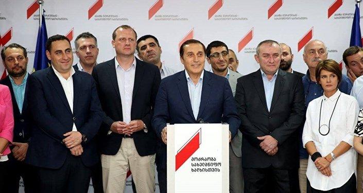 Георгий Вашадзе, Зураб Джапаридзе, Паата Бурчуладзе и Мамука Кацитадзе