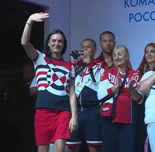 Каждый из вас совершил подвиг – Исинбаева о российских медалистах ОИ-2016