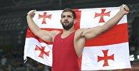 Борец Гено Петриашвили, завоевавший бронзовую медаль на Олимпиаде в Рио