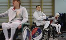 VII Чемпионат РФ по фехтованию на колясках в Московской области