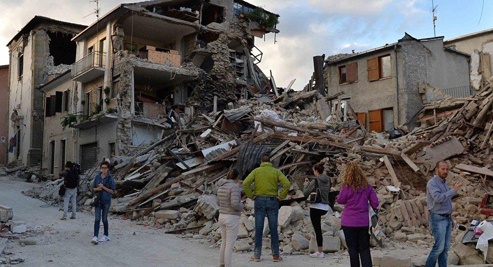 Число погибших землетрясения вИталии возросло до37 человек