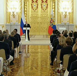 LIVE: Награждение российских призеров Олимпийских игр-2016