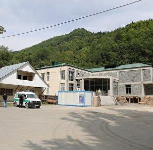 მშენებარე საავადმყოფო ლენტეხში
