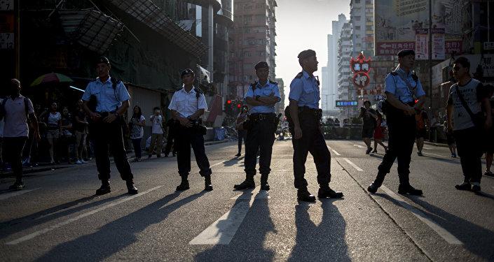 Китай. Полиция
