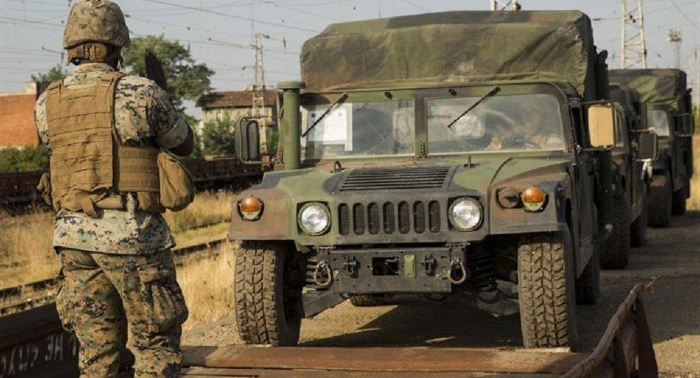 Партия тяжелой военной техники США направлена научения вГрузию