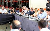 Встреча правительства с грузинскими бизнесменами