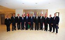 Правительственая делегация Беларуси в Тбилиси