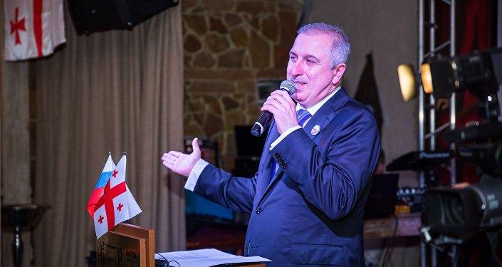 Президент Грузинской Федеральной национально-культурной автономии в РФ  Георгий Цурцумия