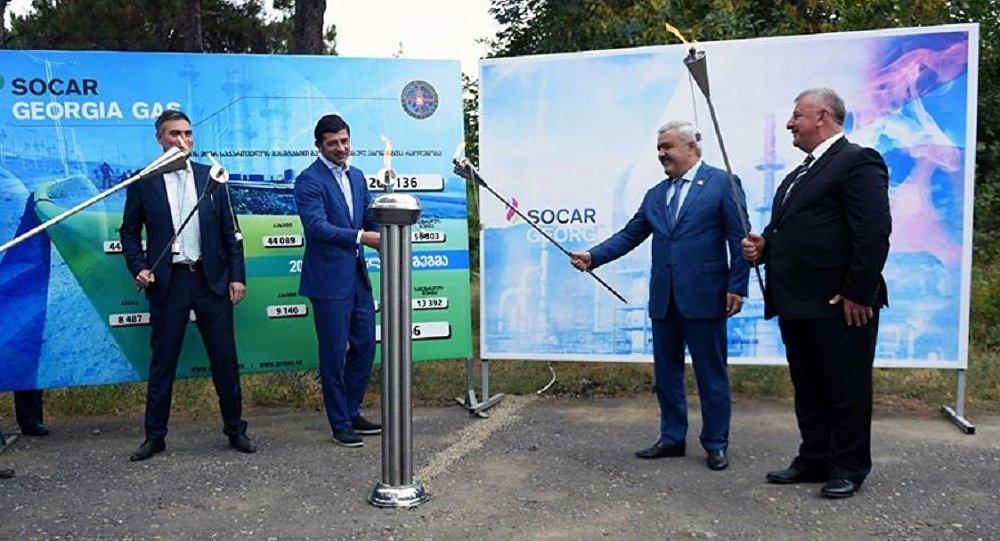Азербайджанская компания продолжает газификацию сел Грузии