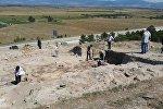 Археологические работы на территории поселения Гудабертка (регион Шида Картли)