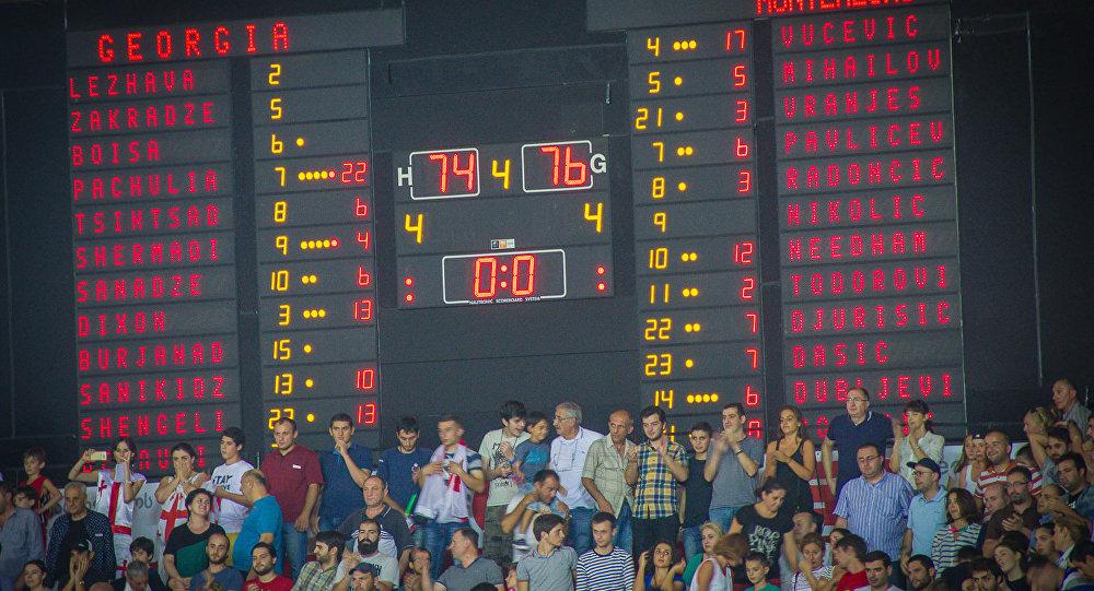 Грузинские баскетболисты проиграли Черногории на последних секундах