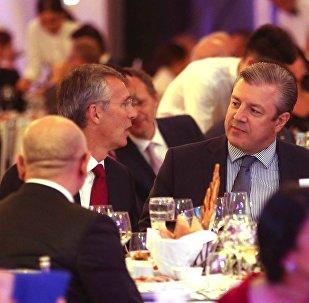 Торжественный прием в честь главы НАТО и членов Североатлантического совета