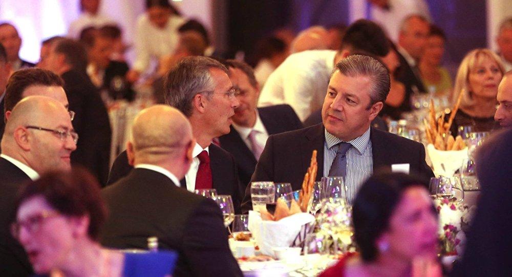 Генеральный секретарь НАТО пообещал Грузии посодействовать наеепути кчленству вальянсе