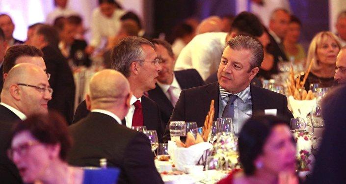 Генсек НАТО пообещал Грузии помощь альянса