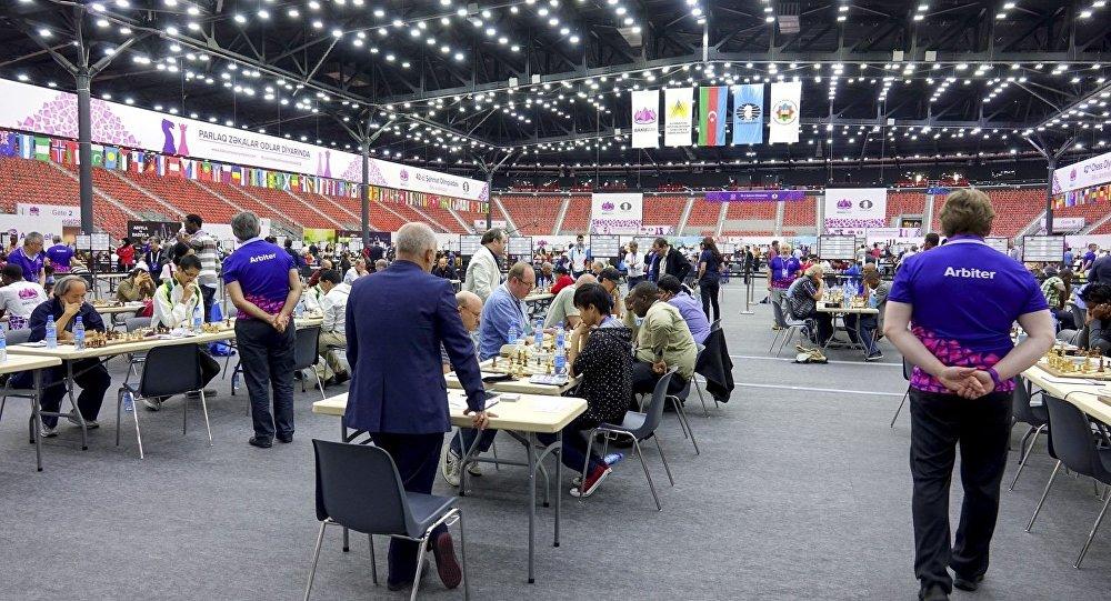 Украинские команды завоевали очередные победы на глобальной шахматной олимпиаде
