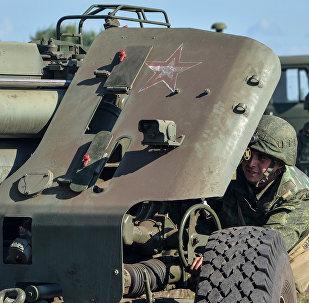 Военные учения в Воронежской области