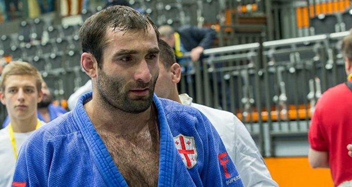 Грузинский дзюдоист Звиад Гогочури