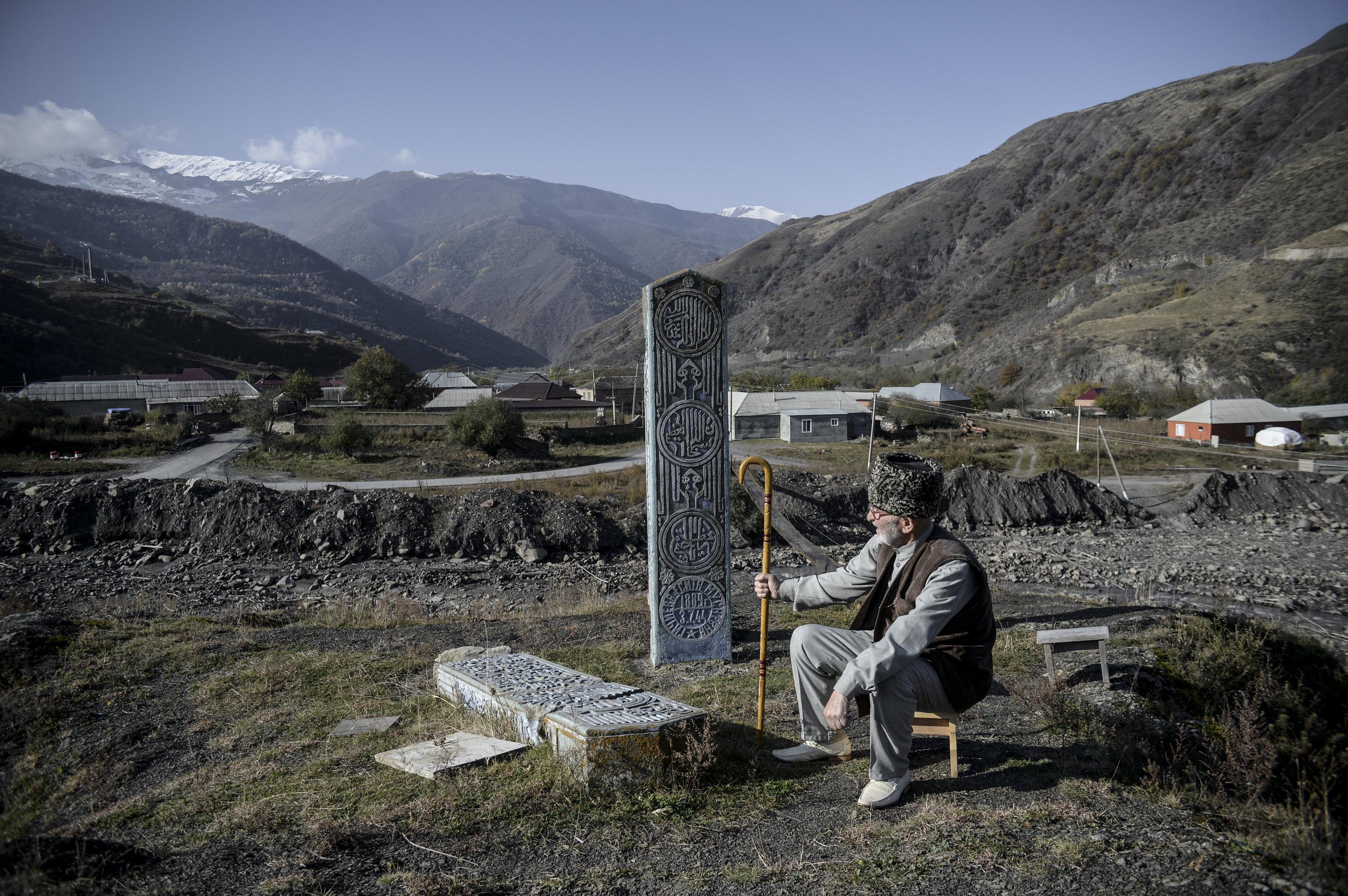 Празднование Курбан-байрама в Чечне