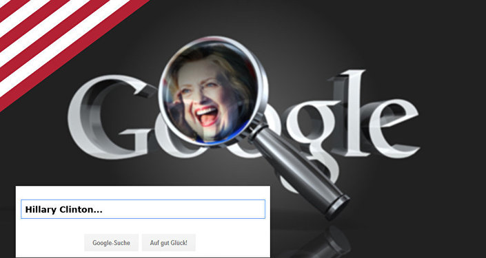 Large Google Manipulation: How the search engine brings Clinton millions of votes