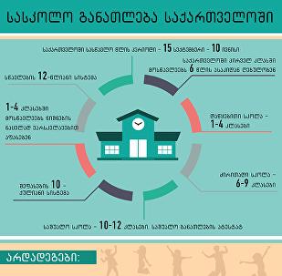 სასკოლო განათლება საქართველოში