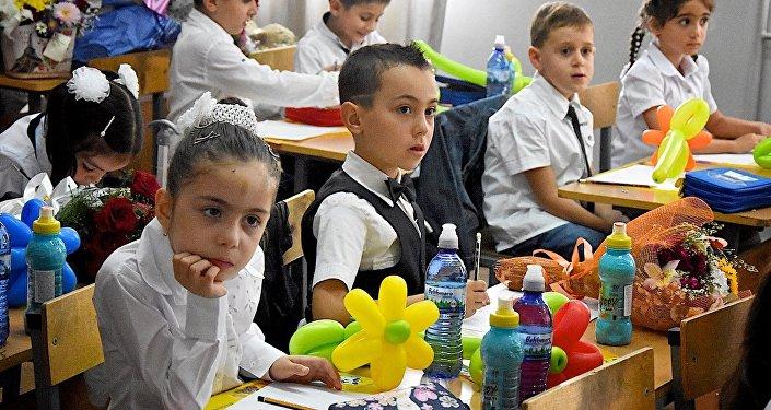 Дети в первом классе