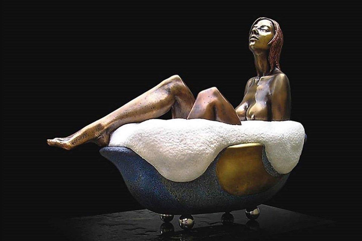 Работа скульптора Левана Вардосанидзе