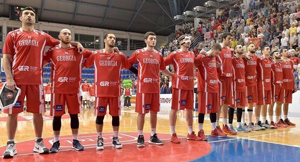 Сборная Грузии по баскетболу начинает подготовку к чемпионату Европы