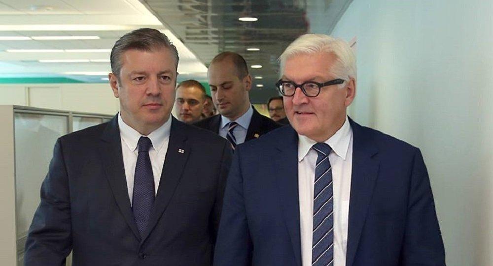 Грузия одна изпередовых стран «Восточного партнерства»— Франк-Вальтер Штайнмайер