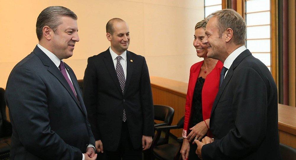 ЕС вскором времени закончит работу полиберализации виз для грузинских жителей - Могерини
